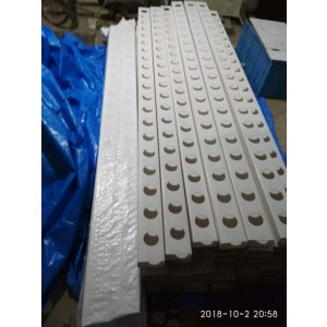 Rectangular Closed NFT Channels (100x50mm) With End Cap for Hydroponics and Aquaponics - 3 meters